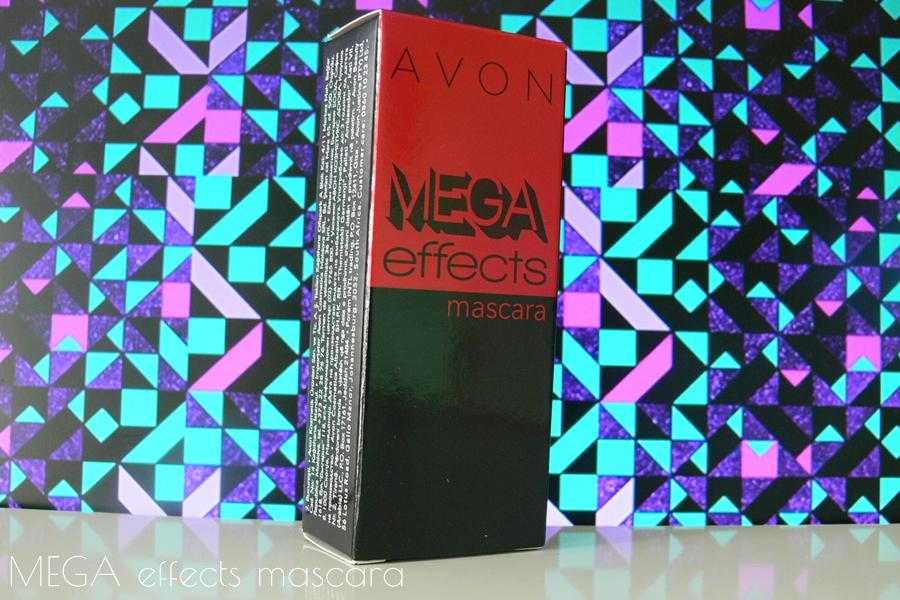 Avon Mega Effects Mascara Tusz do rzęs opakowanie