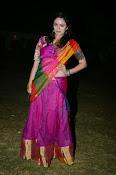 Malavika nair photos in half saree-thumbnail-11