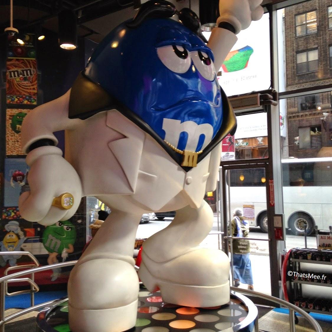 M&Ms Store, NY Times Square statue Elvis rocker Memphis