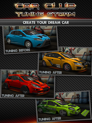 Android Car Club: Tuning Storm