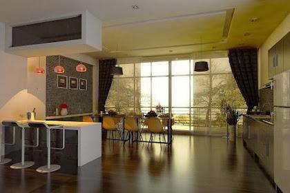 Desain Interior Dapur Ruang Makan dan Kitchen Set Minimalis