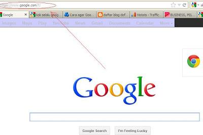 Cara masuk ke google.com