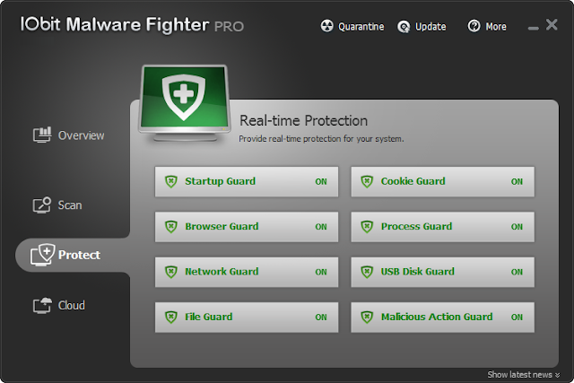 Iobit Malware Fighter Pro 4 Full License Key Terbaru