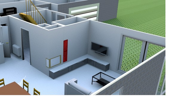 the panda house am nagement k7 part1. Black Bedroom Furniture Sets. Home Design Ideas