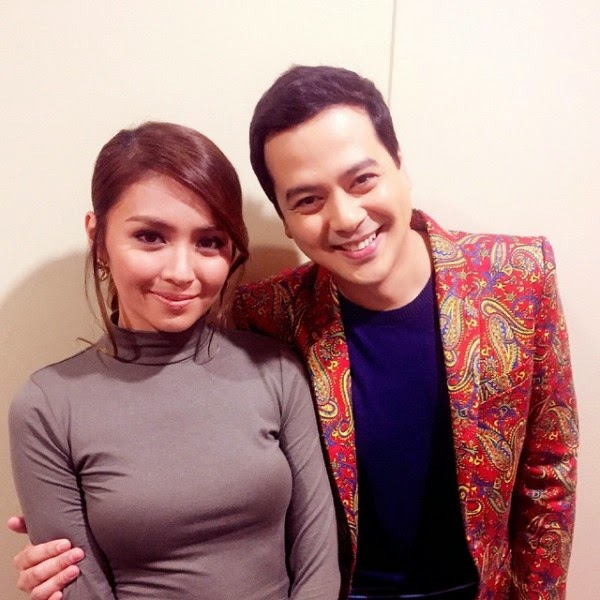 Kathryn Bernardo and John Lloyd Cruz together
