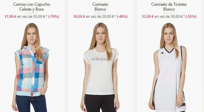Ropa Adidas para mujer