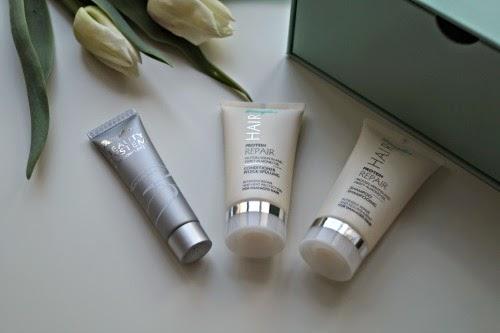 Multi-Talented Serum von Douglas Beauty System, Protein Repair Shampoo & Spülung