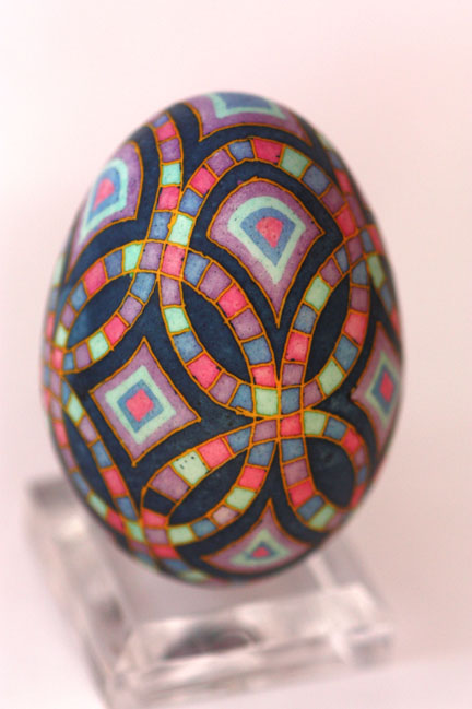 katyegg design friday egg stained glass quilt