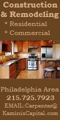 custom carpentry Philadelphia Bucks County