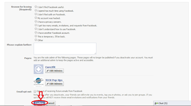 How to delete your Facebook account?