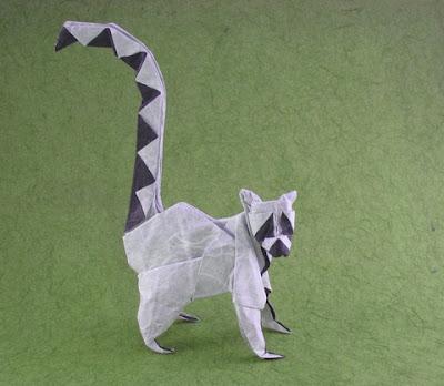 Origami - Lemur