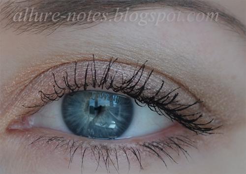 новый макияж для голубых глаз