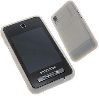 Samsung F480 Tocco Ice Silicon Case.