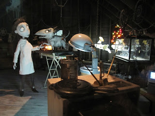 Tim Burton Art of Frankenweenie Exhibition