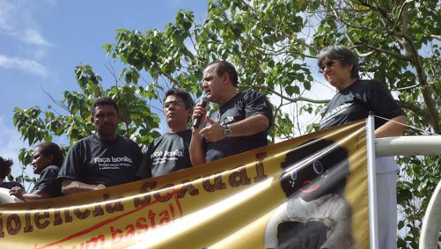 IMAGEM - Passeata contra abuso e exploração sexual em Bacabal