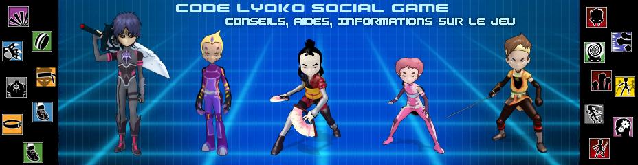 Code Lyoko Social Game Aide - Infos