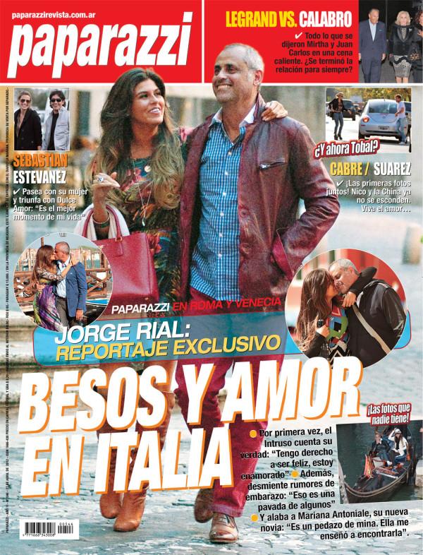 Pasando revista besos y amor en italia el for Revistas del espectaculo