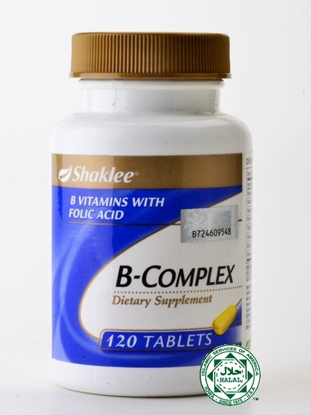 B COMPLEX SHAKLEE