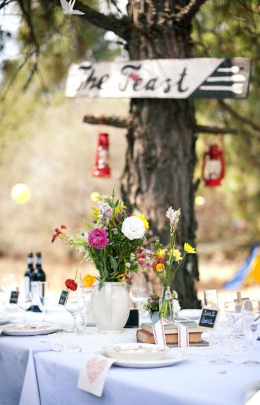 Una boda campestre y vintage for Decoracion boda campestre
