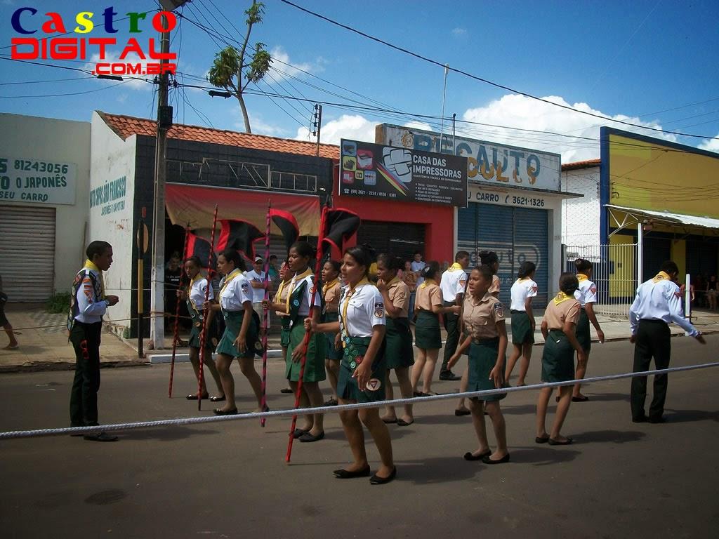 Desfile em Bacabal - MA, 7 de setembro de 2014