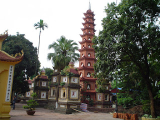 Tran Quoc -Pagode in Hanoi