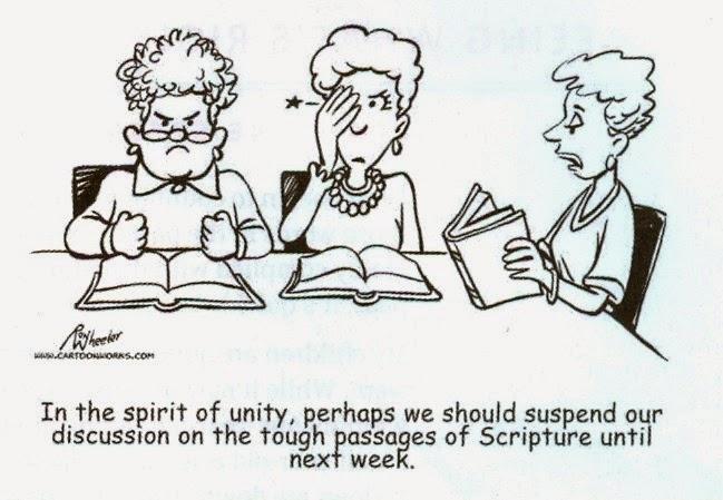 Christian cartoon by Ron Wheeler