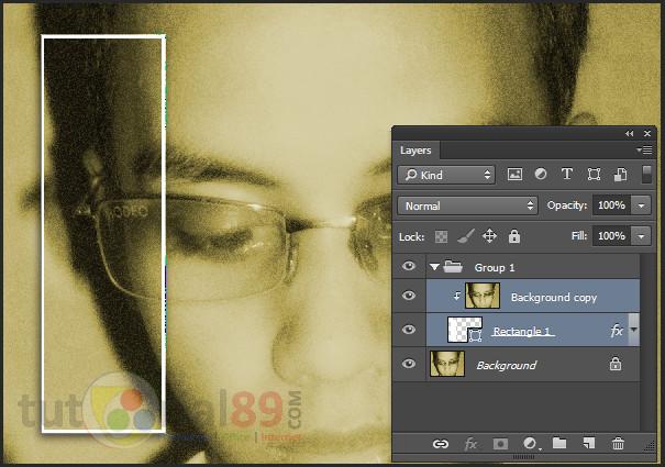 Cara membuat efek foto dalam foto dengan photoshop