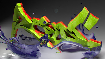 3D Graffiti,3D Graffiti Sketch