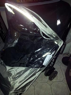 Maclaren Tecno XT, stroller, rain cover