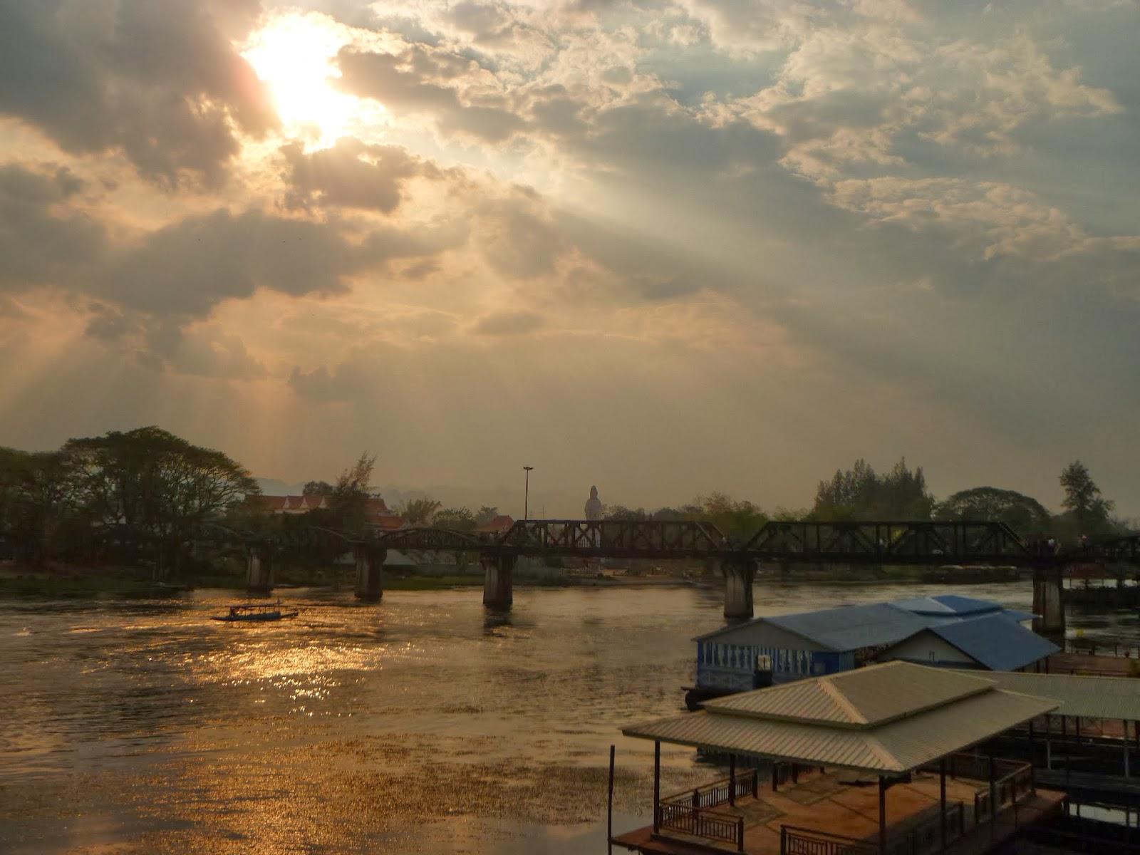 Rambling with Riah: Kanchanaburi: The Bridge over the River Kwai