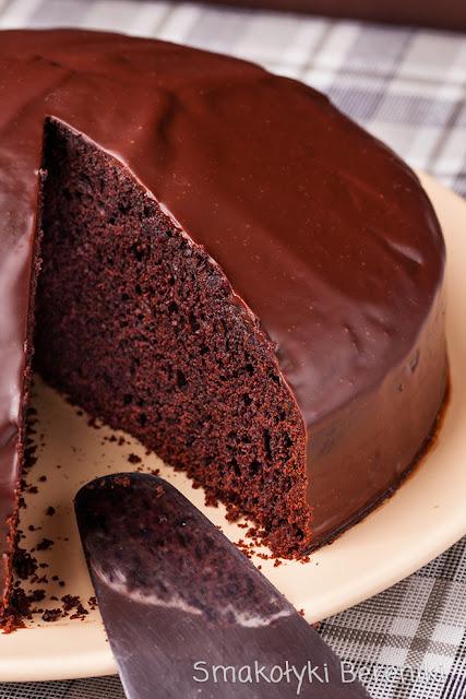 Miękka polewa do ciasta