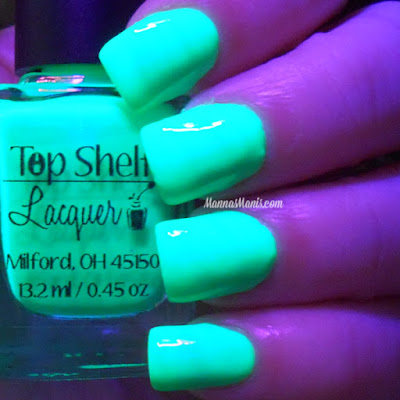 Top Shelf Lacquer Appletini swatches