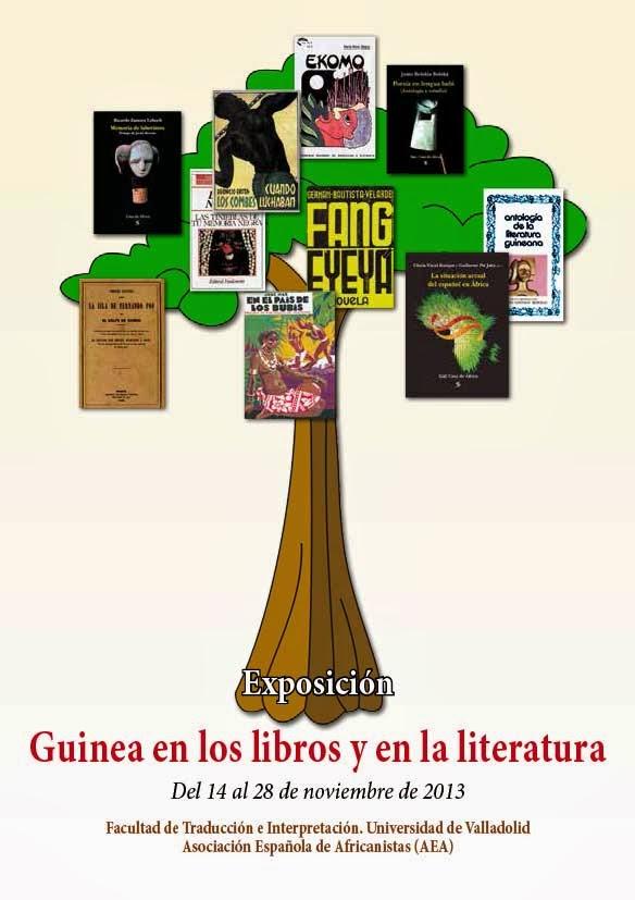 Exposicion-Guinea-en-los-libros-y-la-literatura. Universidad de Valladolid