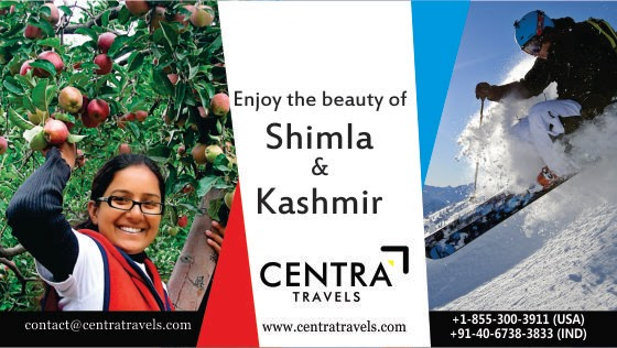 Enjoy the beauty of Kashmir and Shimla