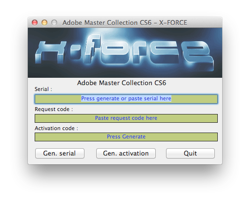 how to read adobe cs6 product code