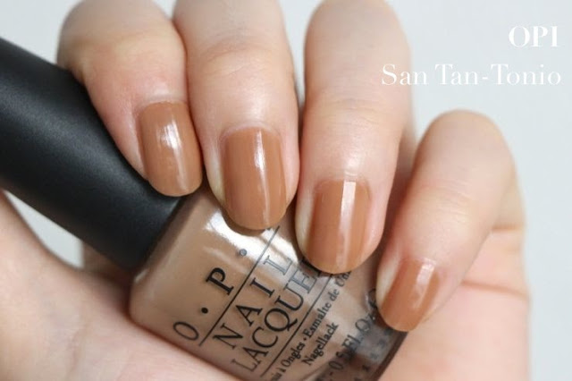 OPI San Tan-Tonio Swatches