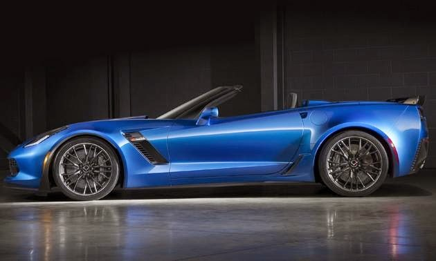 2015 Chevrolet Corvette Z06 Convertible Introduced