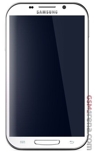 La prima immagine ufficiale del nuovo smartphone Galaxy Note 2 di Samsung