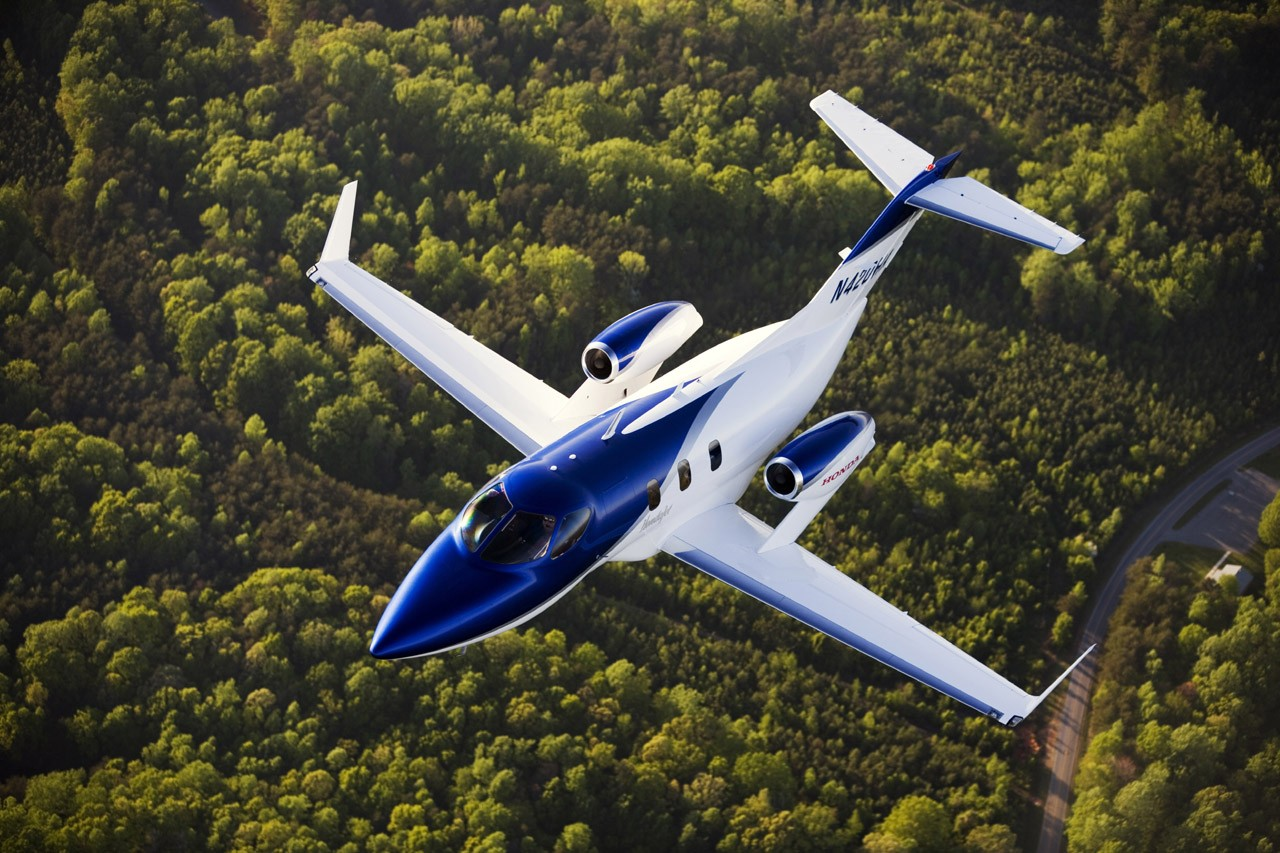 Thrilled customer takes delivery of first hondajet for How much is a honda jet