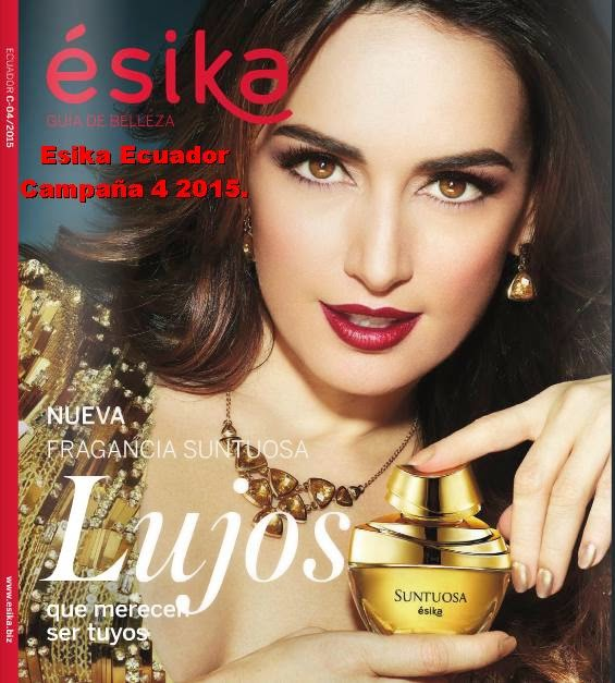 Esika de Ecuador catalogo 4 2015