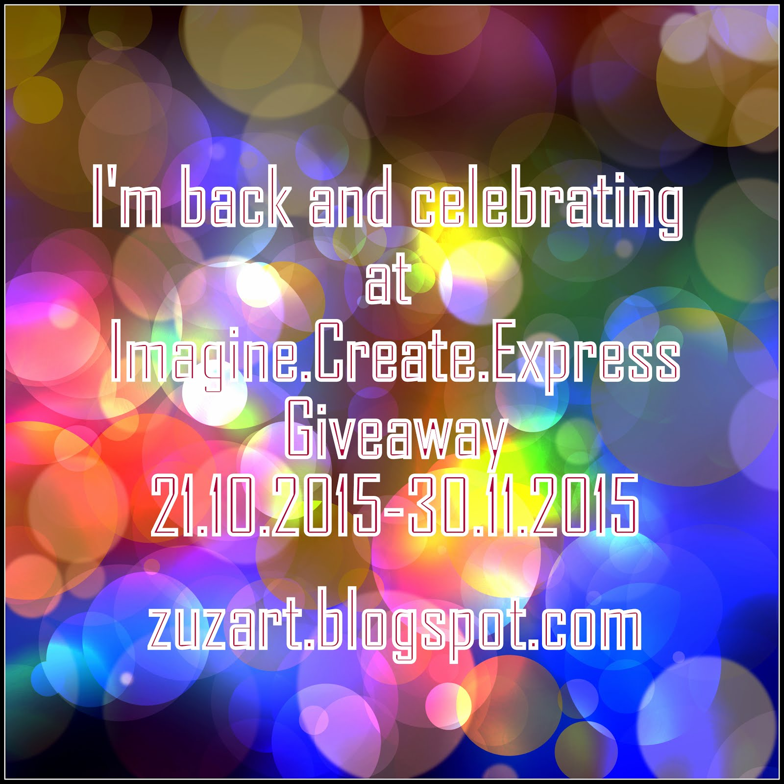 Imagine.Create.Express Giveaway