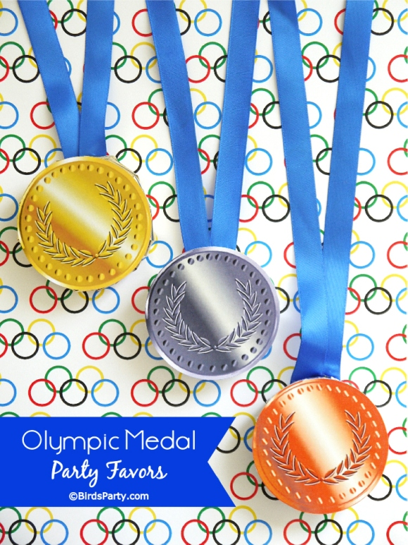 Olympic Medal Party Favors
