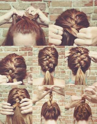 Ladies Hair Styles Tutorials #7.