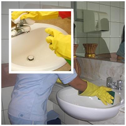 Housekeeping: SOP Hotel HK Cleaning Sink And Vanity Area