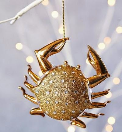 Nautical Ornament of the Week: West Elm crab