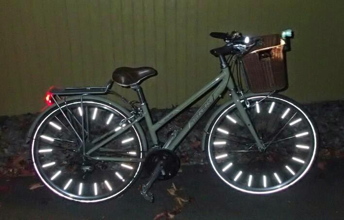 Kent S Bike Blog Salzmann Spoke Reflectors