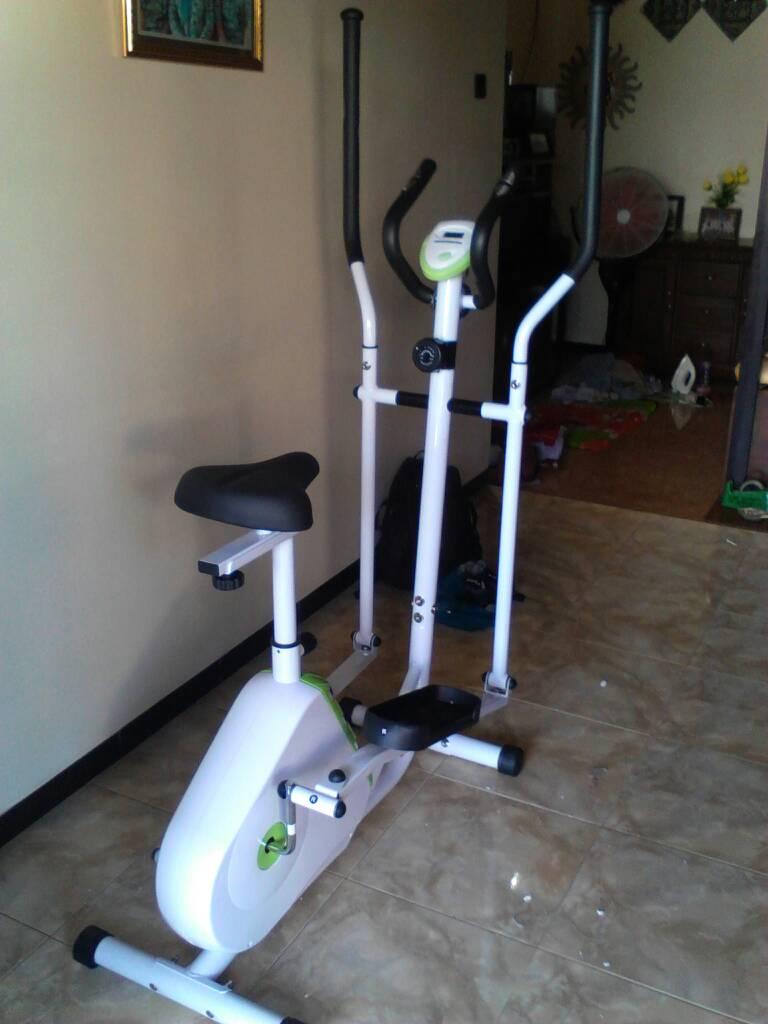 Elliptical Bike Id 838 Jg Fitness Store Toko Online Alat Treadmill Manual Tl 5008 Bisa Cod