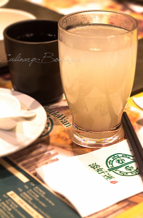 Chinese Tea and Barley Water at Tim Ho Wan