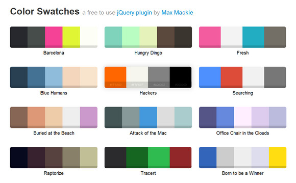 jQuery.Swatches Turns Div into a Sweet Color Swatch