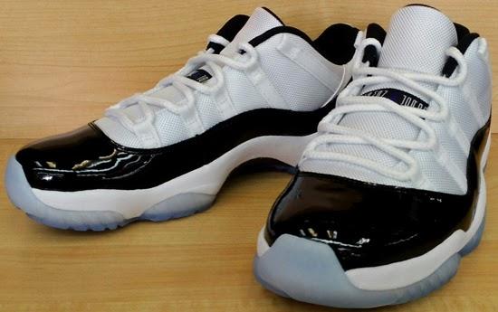 Air Jordan 11 Retro Low White Black-Dark Concord Available Early On eBay c18ecef68